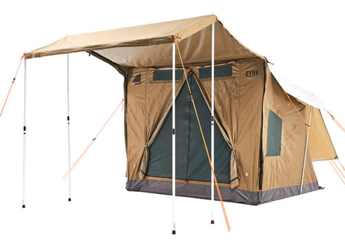 Home ...  sc 1 st  Sporting Geeks & Oztent Eyre E2 30 Second Quick Easy Setup 5 Person Waterproof ...